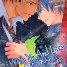 YK141Kuroko no BasukeR15 Doujinshi With you & love by Hoke 2Kuroko x Aomine24 pages