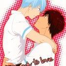 YK67Kuroko no BasukeReady to Love R15 Doujinshi by Aurora VisionKagami x Kuroko12 pages