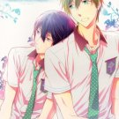 Y178	Free! Iwatobi Swim Club Doujinshi 	Warm Hot Tepid	by Opera	Makoto x Haruka	34	pages