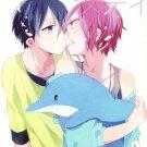Y197Free! Iwatobi Swim Club Doujinshi by wonderHaruka x Rin28pages