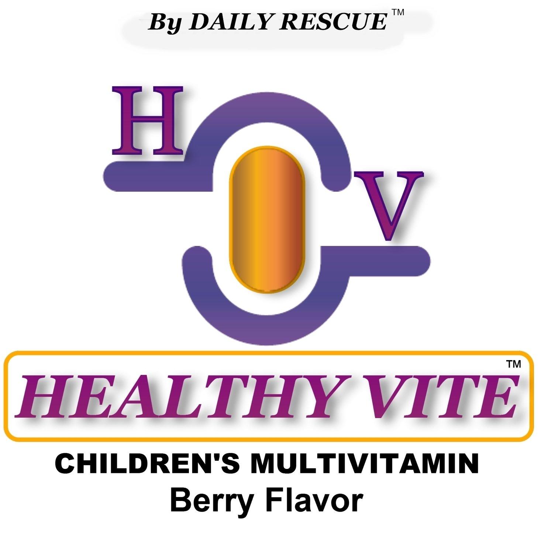 HEALTHY VITE � 120ct- Best / Advanced Multi-Vitamin Supplement for Children / Kids