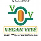 VEGAN VITE ™ Best / Advanced Vegetarian Multi-Vitamin Supplement for Men & Women