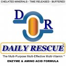 DAILY RESCUE ™ 90ct - Best / Advanced Multivitamin Supplement - Time Release with Enzymes +