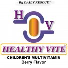 HEALTHY VITE ™ 120ct- Best / Advanced Multivitamin Supplement for Children / Kids