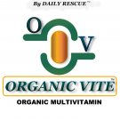 ORGANIC VITE ™ for MEN -80ct- Best / Advanced Organic Multivitamin Supplement