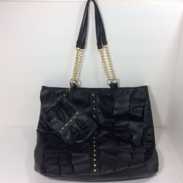 DSW Hobo Bag, Shoulder Bag, Tote, Purse. Black With Wallet. NEW *FREE SHIPPING*