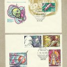 RUSSIA SOVIET UNION COSMONAUTICS DAY FIRST DAY COVERS 1969