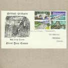 UNITED KINGDOM BRITISH BRIDGE STAMPS FIRST DAY COVER FDC 1968