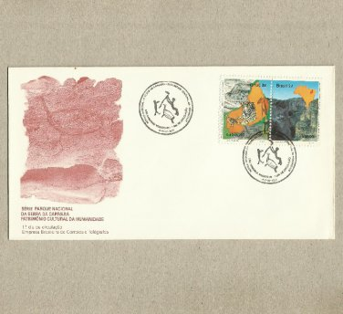 BRAZIL CANYON WILDLIFE FIRST DAY COVER 1992