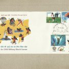 INDIA 4th MILITARY WORLD GAMES STAMPS FIRST DAY COVER 2007