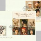 UKRAINE STAMPS TRADITIONAL HEADDRESS OF UKRAINIAN WOMEN  FIRST DAY COVERS 2006