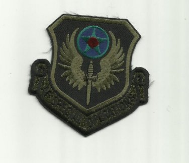 AIR FORCE AF SPECIAL OPERATIONS UNIFORM PATCH BADGE