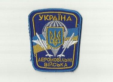UKRAINE UKRAINIAN PARATROOPER SLEEVE PATCH