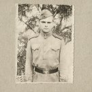 SOVIET SOLDIER PHOTOGRAPH WITH PERSONAL MESSAGE DECEMBER 1958 RAVA-RUSKA