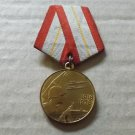 SOVIET UNION CCCP SIXTY 60 YEARS OF THE SOVIET ARMED FORCES JUBILEE MEDAL WITH ORIGINAL DOCUMENT
