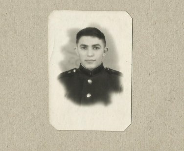 SOVIET SOLDIER PHOTOGRAPH WITH PERSONAL MESSAGE AUGUST 1959