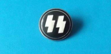 GERMAN WORLD WAR TWO WWII SS INSIGNIA PIN BADGE