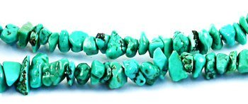 Genuine ARIZONA NAVAJO TURQUOISE Beads 4-6mm Blue w/Matrix
