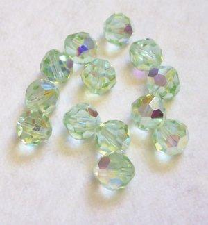 Swarovski AB CRYSOLITE Crystal Beads 8mm