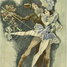 ART DECO BALLET DANCERS DANCE COSTUME CANVAS PRINT BIG