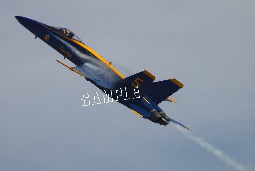 U.S. NAVY BLUE ANGELS AIR PLANES CANVAS ART PRINT LARGE
