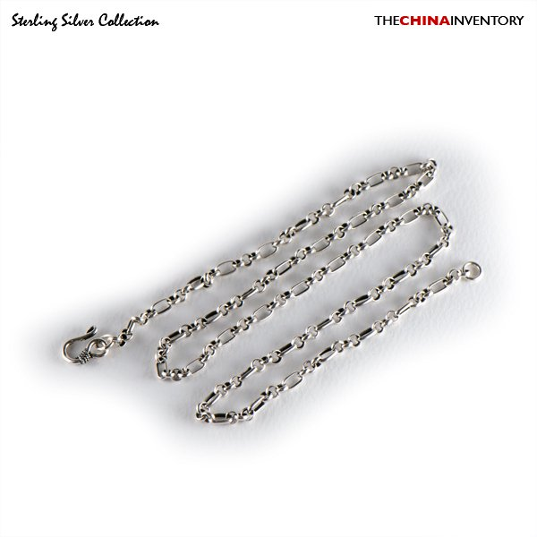 "4MM 24"""" 925 STERLING SILVER CHAIN NECKLACE SIL0206"