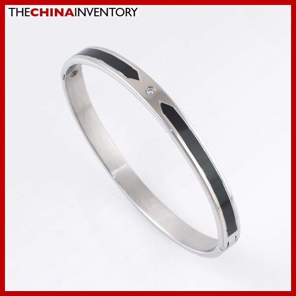 COOL GIRL'S 6MM STAINLESS STEEL CUFF BANGLE B2106B