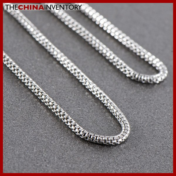 """18"""""""" 1.9MM STAINLESS STEEL SNAKE CHAIN NECKLACE N1019A"""
