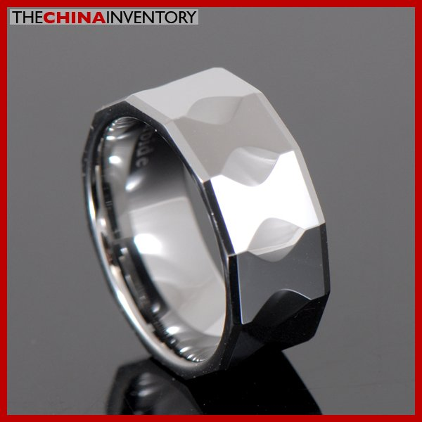 Size 10 TUNGSTEN CARBIDE RING MEN WEDDING BAND R3701