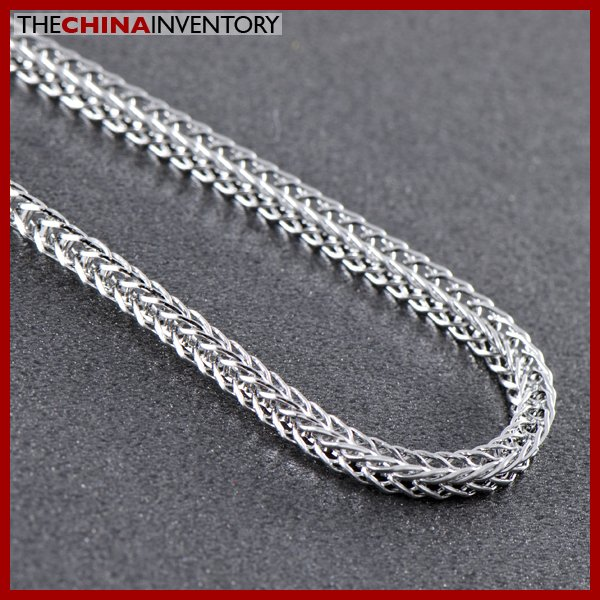 "9"""" HEAVY STAINLESS STEEL CURB CHAIN BRACELET B0835B"