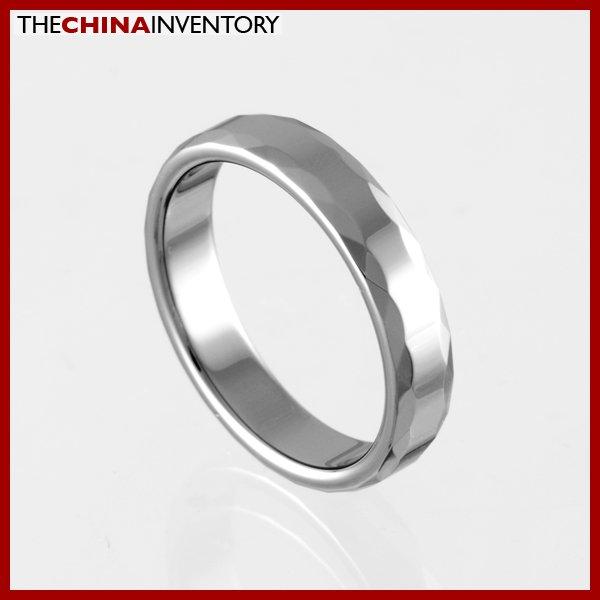4MM SIZE 9.5 TUNGSTEN CARBIDE WEDDING BAND RING R0916A