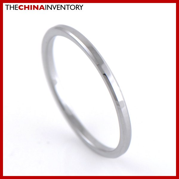 1.2MM SIZE 8 TUNGSTEN CARBIDE WEDDING BAND RING R1807