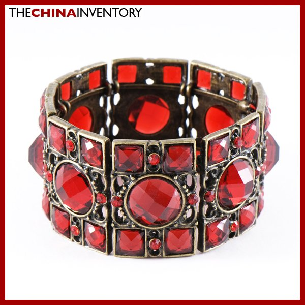 COPPER TONE MOSAIC STYLE CUFF BANGLE BRACELET B0824A