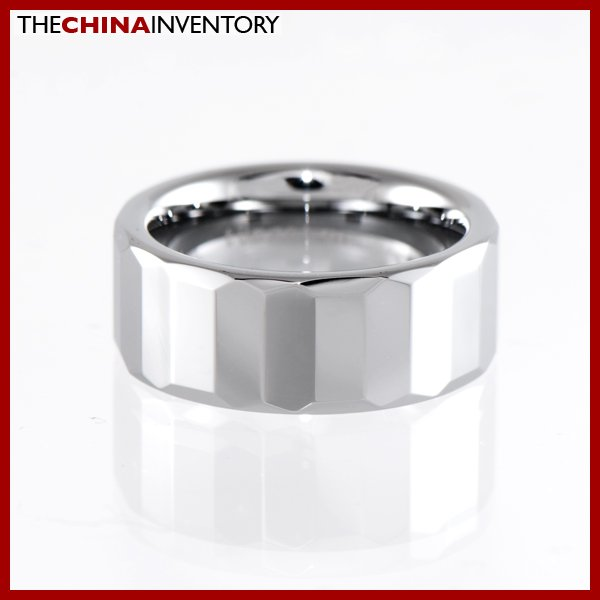 8MM SIZE 9 TUNGSTEN CARBIDE WEDDING BAND RING R1404