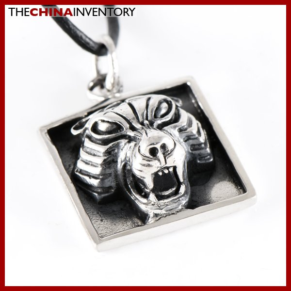 925 STERLING SILVER 3D TIGER TAG PENDANT SIL1216