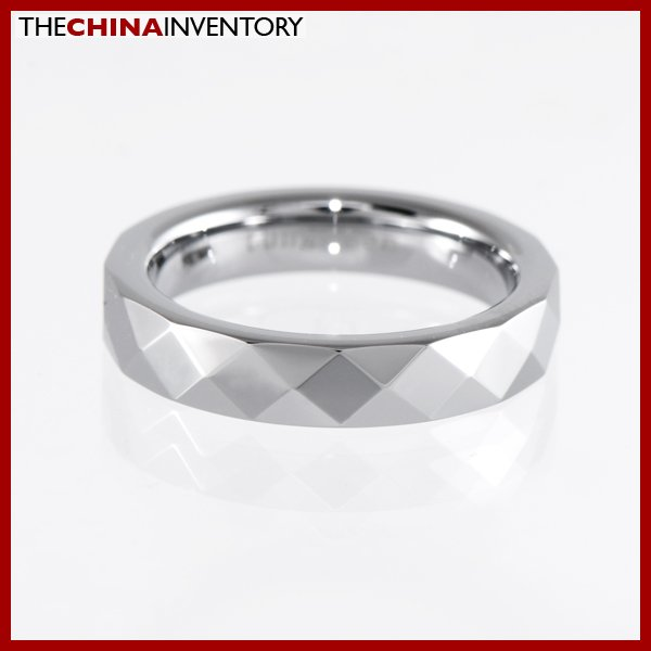 4MM SIZE 4 TUNGSTEN CARBIDE WEDDING BAND RING R1402