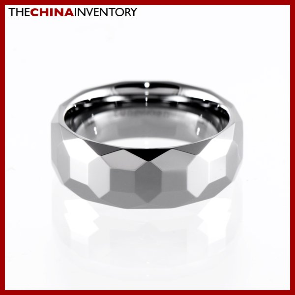 8MM SIZE 8.5 TUNGSTEN CARBIDE WEDDING BAND RING R1410