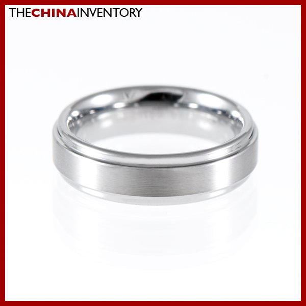 6MM SIZE 7.5 TUNGSTEN CARBIDE WEDDING BAND RING R1108