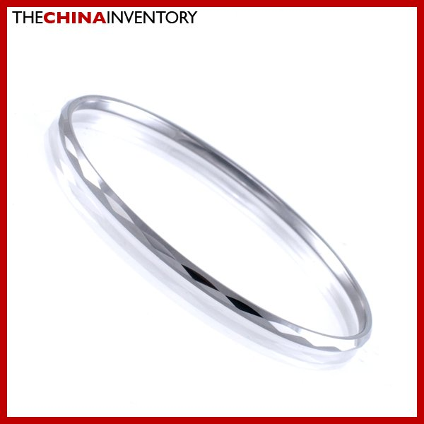 2.5MM TUNGSTEN CARBIDE FACETED BANGLE BRACELET B1723