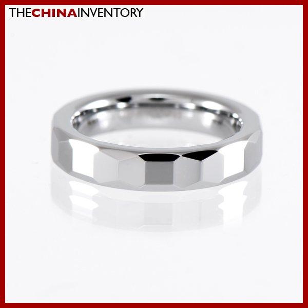 4MM SIZE 10 TUNGSTEN CARBIDE WEDDING BAND RING R1406