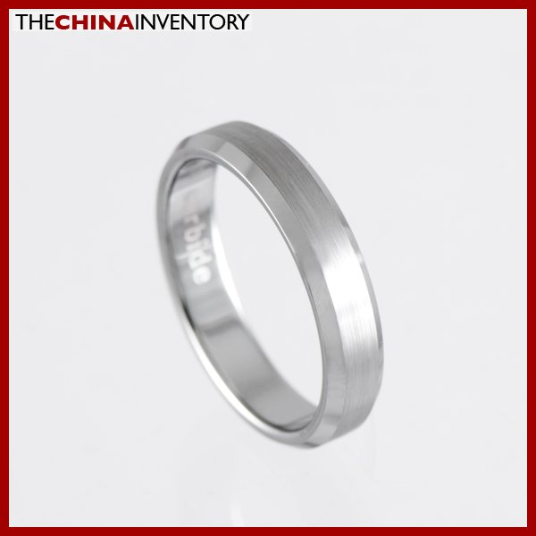 4MM SIZE 5 NEW TUNGSTEN CARBIDE WEDDING BAND RING R1004