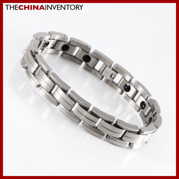 "8 3/4"""" TITANIUM HEALTH THERAPY WATCHBAND BRACELET B1113"