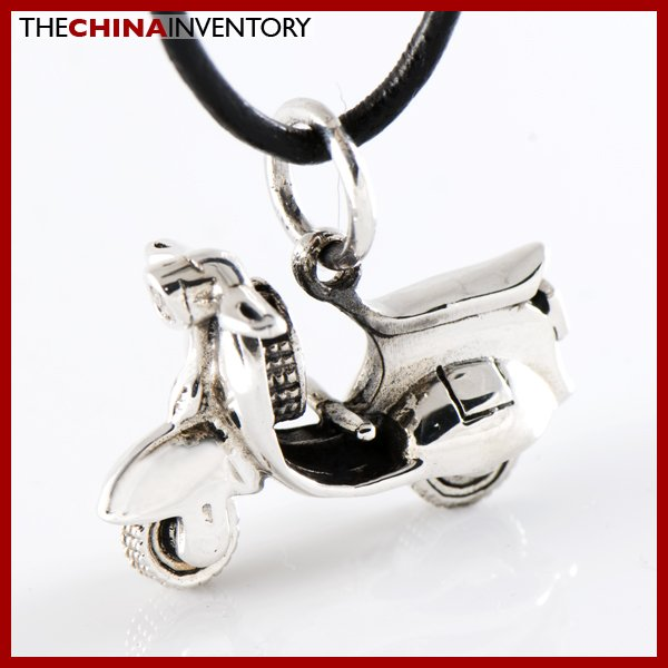 NEW 925 STERLING SILVER MOTOR BIKE PENDANT SIL1213