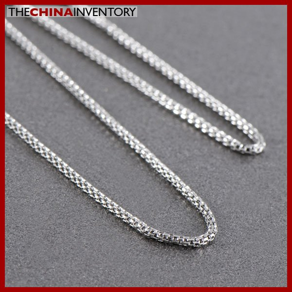"""20"""""""" 1.4MM STAINLESS STEEL SNAKE CHAIN NECKLACE N1018B"""