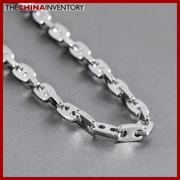 """22"""""""" STAINLESS STEEL HEAVY LINKS NECKLACE N1023"""