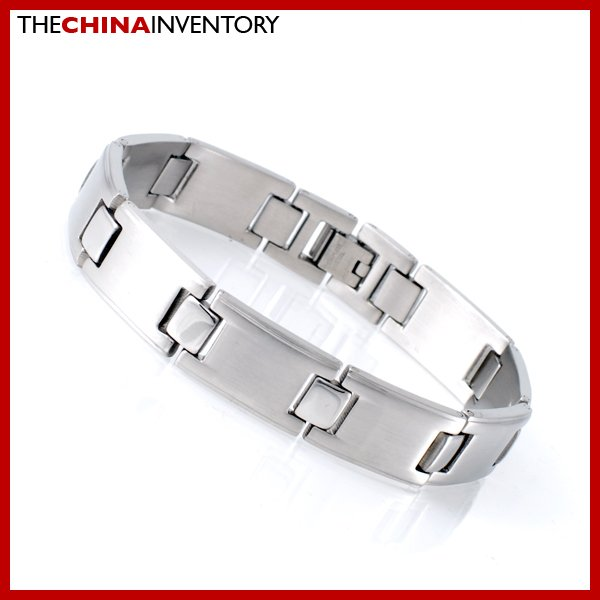 "13MM 8"""" STAINLESS STEEL WATCHBAND BRACELET B1720B"