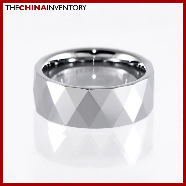 8MM SIZE 10 TUNGSTEN CARBIDE WEDDING BAND RING R1403