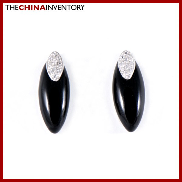 925 STERLING SILVER ONYX STUD EARRINGS JEWELRY SIL1129