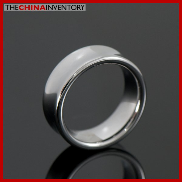 7MM SIZE 8.5 TUNGSTEN CARBIDE WEDDING BAND RING R1603