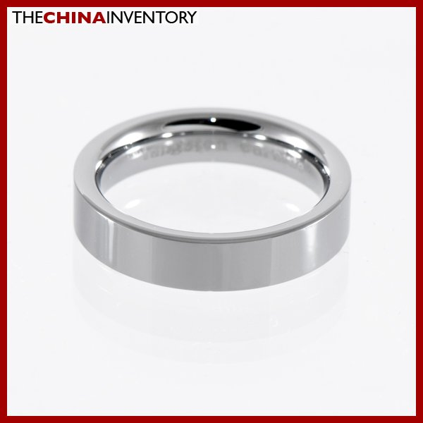 5MM SIZE 5.5 TUNGSTEN CARBIDE WEDDING BAND RING R1204